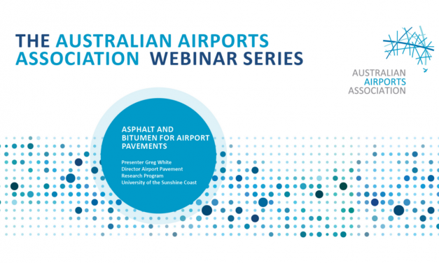 AAA Webinar Series – Asphalt and Bitumen for Airport Pavements