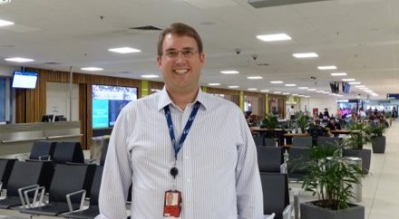 Andrew Warrender: On becoming an 'airport person' and young executive of the year