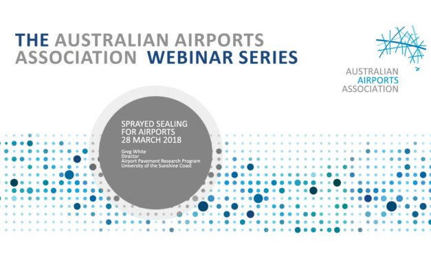 AAA Webinar Series – Sprayed Sealing for Airports