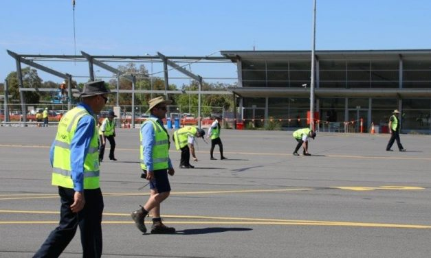 'Walk a day in my shoes': Airport Safety Week preparations get underway