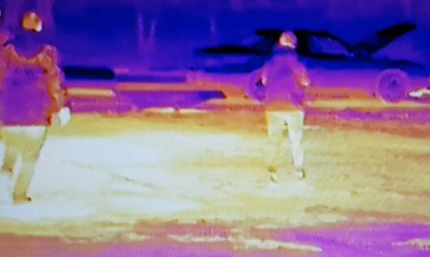 Infrared cameras improve sights on security